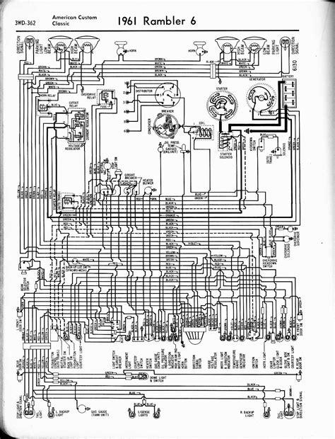 1965 rambler clic wiring diagram get free image about