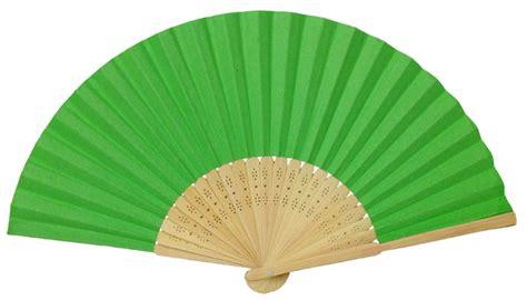 Paper Folding Fan - folding paper fan 8 25 quot green