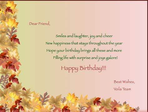 Professional Birthday Wishes Quotes Birthday Wishes Using Voila Global Delight Blog