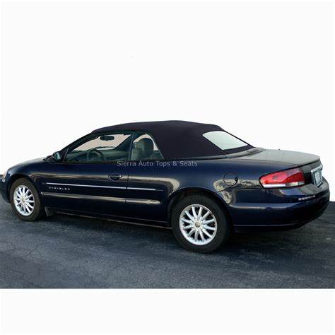 2001 Chrysler Sebring Convertible For Sale by 2001 2006 Chrysler Sebring Convertible Top Black Vinyl
