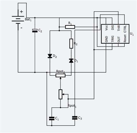 circuit diagram to generate pwm waveform k
