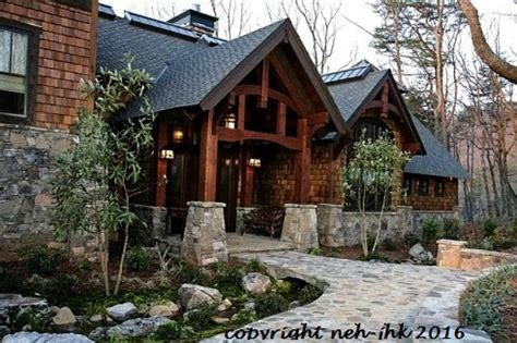 Mountain Lodge House Plans by Rocky Mountain Lodge Rustic Mountain Timber Frame Home