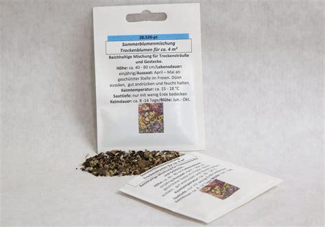 Gartenartikel Sale by Blumenmischung Trockenblumen Seedshop24 Saatgut Bio