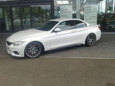 bmw f33 bmw f33 m sport mineral white m4 conversion with oem parts