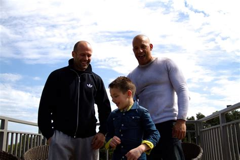 fast and furious jason statham scene fast and furious 7 vin diesel posts new behind the scenes