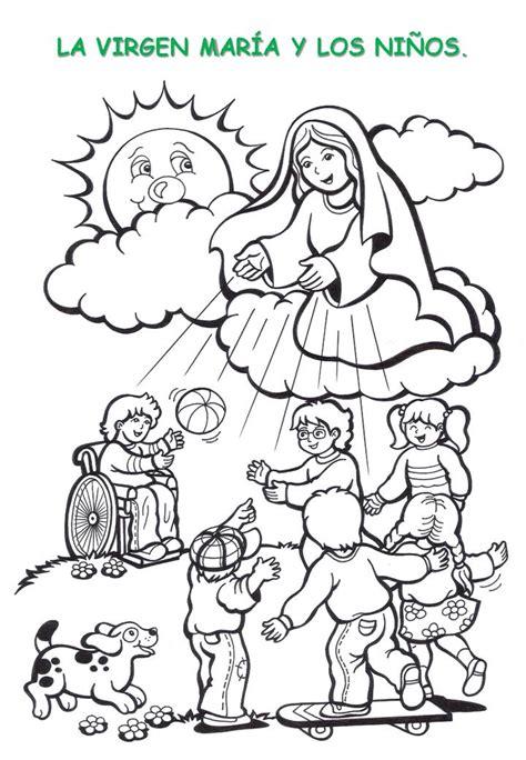 actividades para ninos de la virgen maria taller quot jugando me acerco a mar 205 a quot octubre 2010