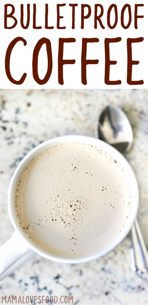 how to make a coffee how to make bulletproof coffee mama loves food