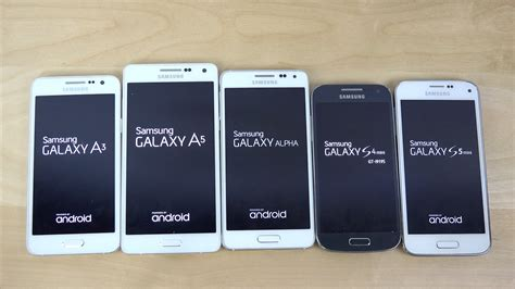 Hp Samsung Alpha A5 samsung galaxy a5 vs galaxy a3 vs galaxy alpha vs s5 mini vs s4 mini which is faster