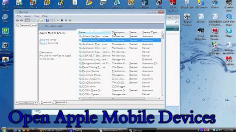 apple mobile service device how to fix quot apple mobile device service not started error