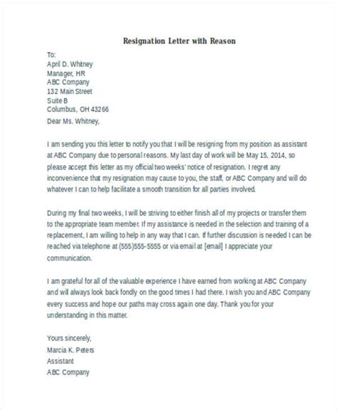 Resignation Letter Format Reason Higher Studies Pdf one day resignation letter one month notice period