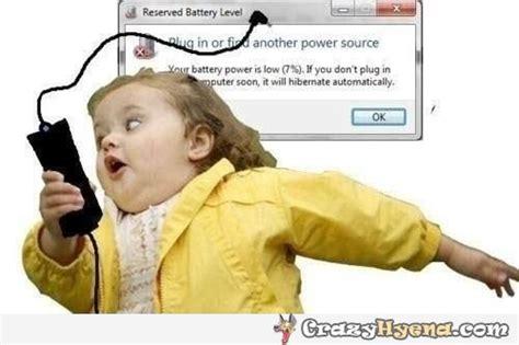 Laptop Meme - reserved battery level meme