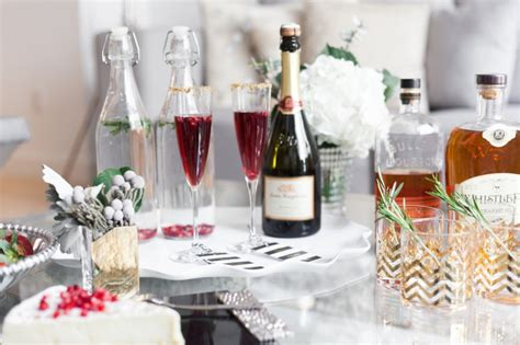 hosting a cocktail party host a holiday cocktail party ideas chagne holiday