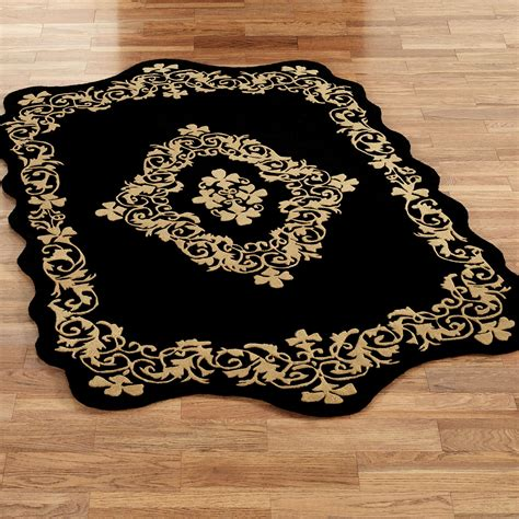 Sculptured Area Rugs Imperial Scroll Sculpted Wool Area Rugs