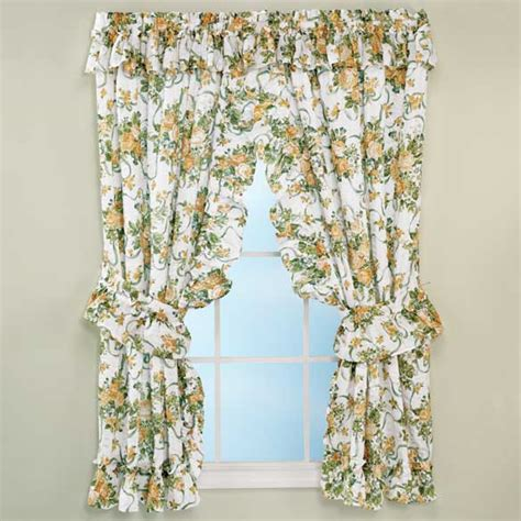 rose floral curtains plisse curtains floral curtains miles kimball