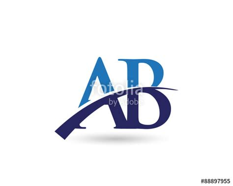 Lookup Alberta Quot Ab Logo Letter Swoosh Quot Stock Image And Royalty Free Vector Files On Fotolia Pic