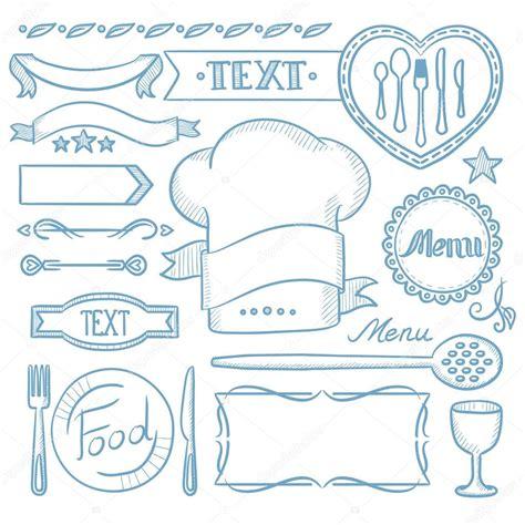 cornici per menu ristorante set di nastri cornici per menu ristorante