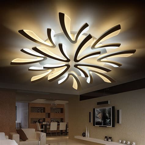 aliexpress com buy modern led ceiling lights acrylic aliexpress com buy neo gleam acrylic thick modern led