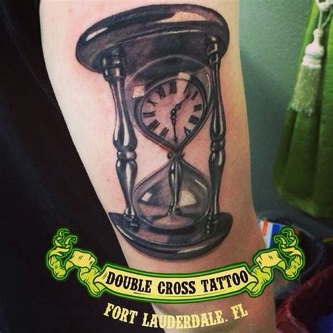 tattoo bypeter cavorsi yelp hourglass done at double cross tattoo by peter photelo yelp