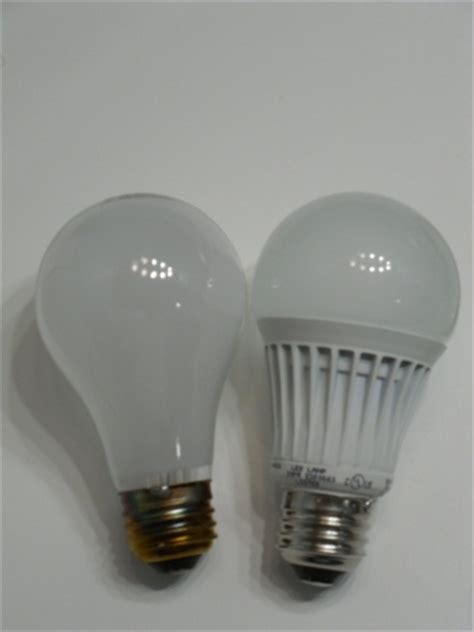 incandescent light bulb vs led the home depot ecosmart led light bulbs