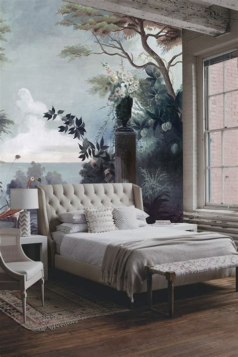 bedroom wall murals ananb 244 panoramic wallpapers quintessence
