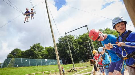 Activity Swing Family Activity Adventure Holidays In At Pgl Barton