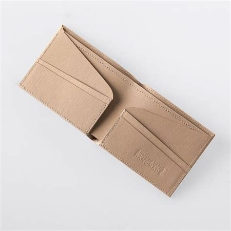 Bi Fold Paper - minimalist thin washable paper bi fold wallet in