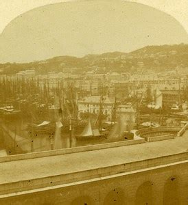 old boat genoa past to present italy photos