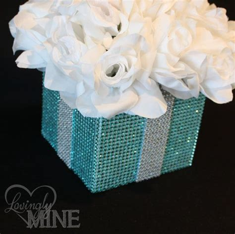 white silk bling and centerpieces on pinterest