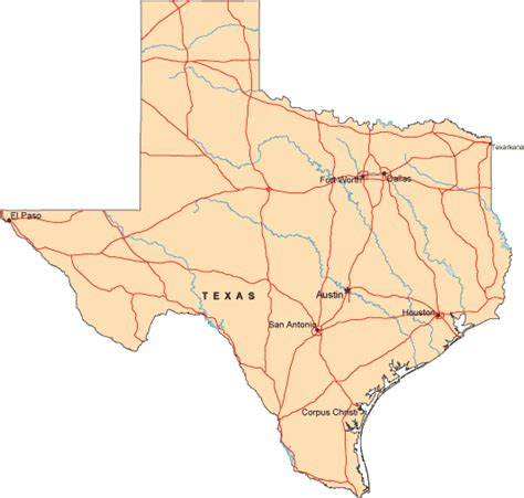 atlas texas map map of texas