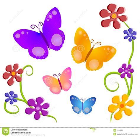 clipart farfalle arte di clip dei fiori di farfalle 1 illustrazione di