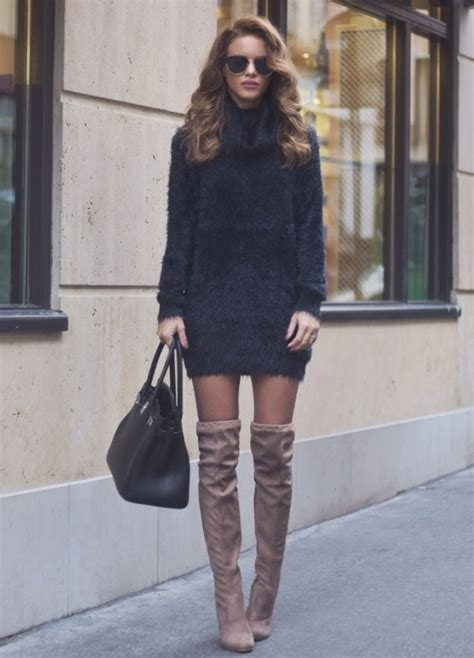 5 ways to wear thigh high boots glam radar