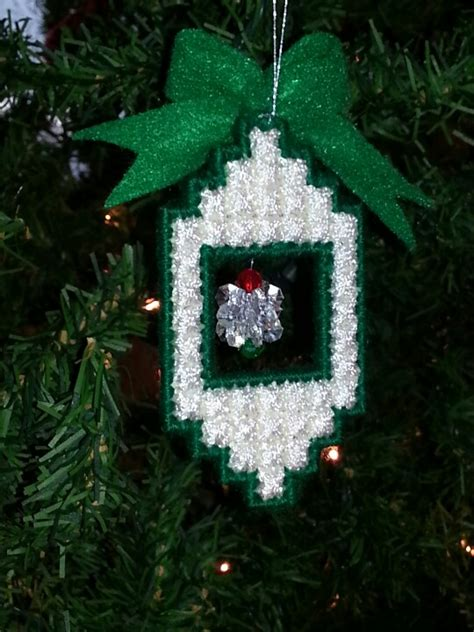 plastic canvas christmas ornament may 1 pinterest
