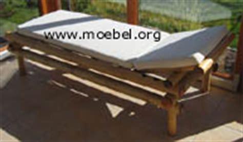 liegestühle für schlafzimmer bambusliegen betten aus bambus