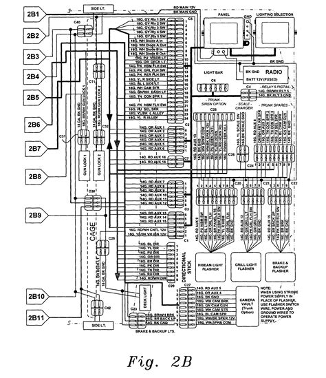 whelen strobe light wiring diagram circuit and