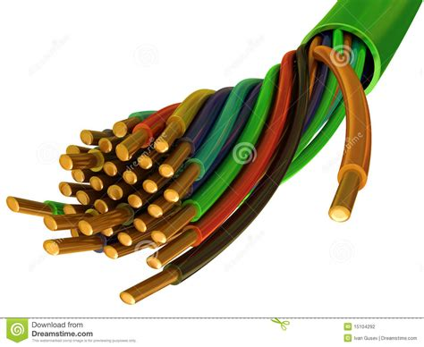 copper wires stock photography image 15104292