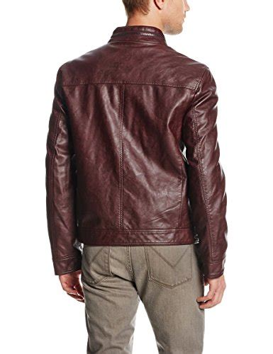 Coat Abu Dhabi Maroon kenneth cole reaction s faux leather moto jacket burgundy medium buy in uae