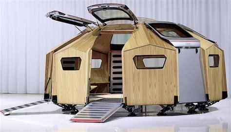 mobiler pavillon konstantin grcic constructs mobile prefab pavilion from