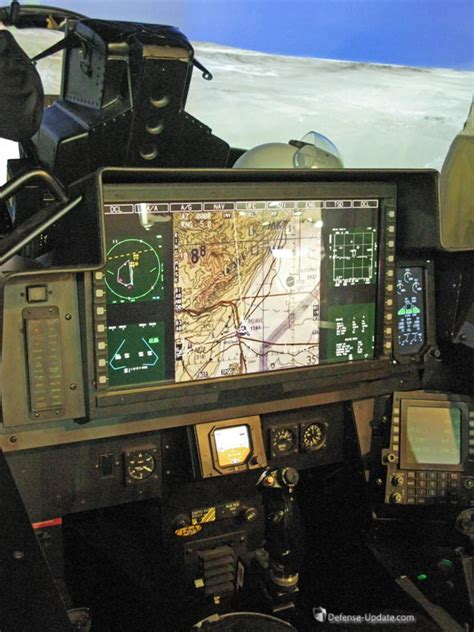 Elbit Systems Large Area Display Selected for Boeing's ... F 15 Cockpit