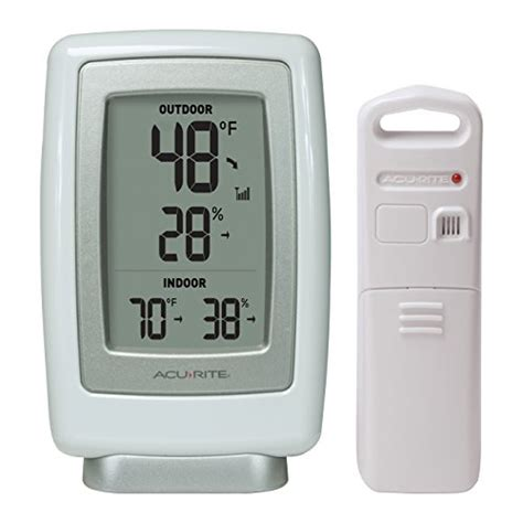 best indoor outdoor wireless thermometers for monitoring