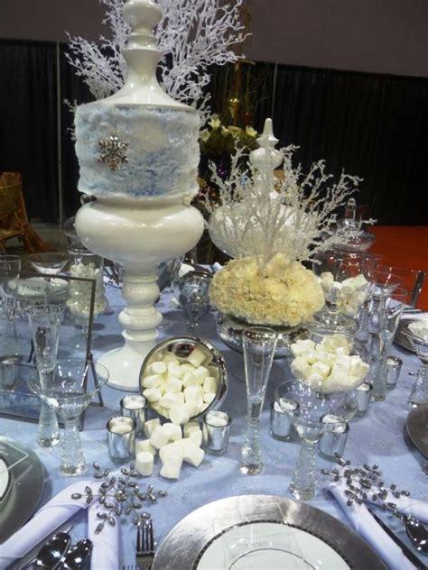 white wonderland christmas decorations ideas