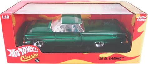 chevy el camino green hot wheels classics
