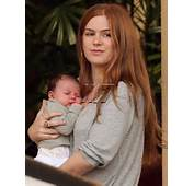 Sacha Baron Cohen Isla Fisher And Olive At Four Seasons – Moms