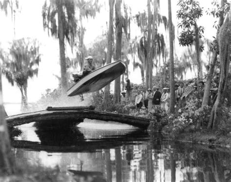 driving boat in florida florida memory bob eastman stunt driving boat to the