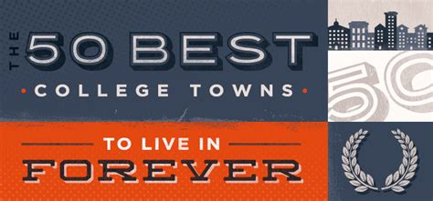 the 50 best small towns to live in america mindbodygreen com the 50 best college towns to live in forever college ranker