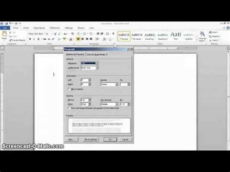 essay format word 2010 mla format setup in word 2010 youtube