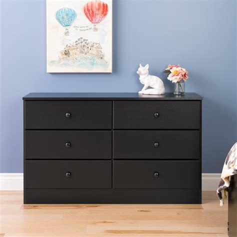 Cassey Drawer Black Limited prepac manufacturing ltd astrid 6 drawer dresser black