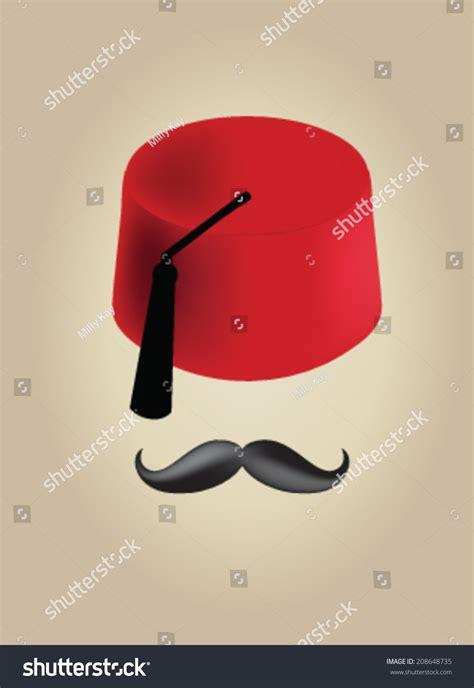 ottoman mustache ottoman moustache stock vector illustration 208648735