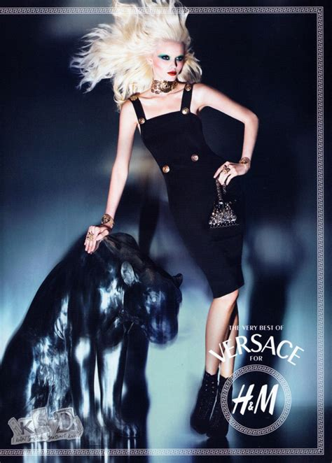 Versase Pink Black Korea Shantcoll syriously in fashion versace for h m new exclusive
