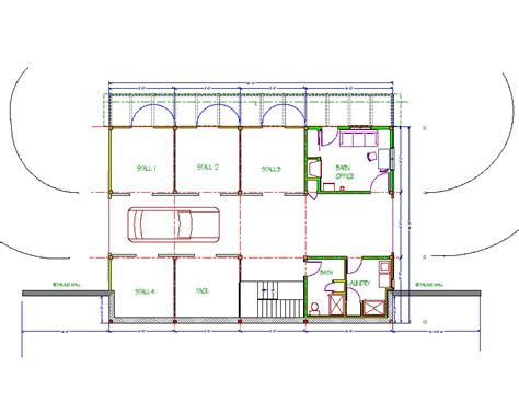 Barn Floor Plans With Living Quarters Detail Sheds Plans 12x16 Indr