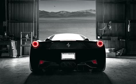 wallpaper black ferrari ferrari 458 italia wallpapers wallpaper cave